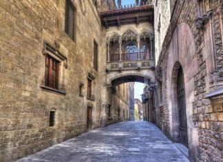 Barrio Gotico Barcelone