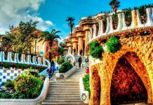 Parce Guell Barcelone