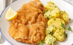 Schnitzel, spécialité culinaire de Vienne