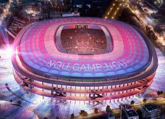 Stade Camp Nou FC Barcelona