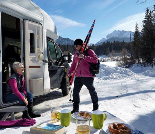 Faire du camping en hiver